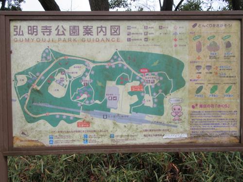 弘明寺公園の展望台