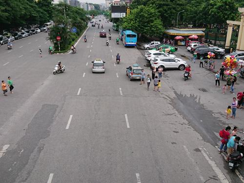 ベトナム・ハノイ市街地