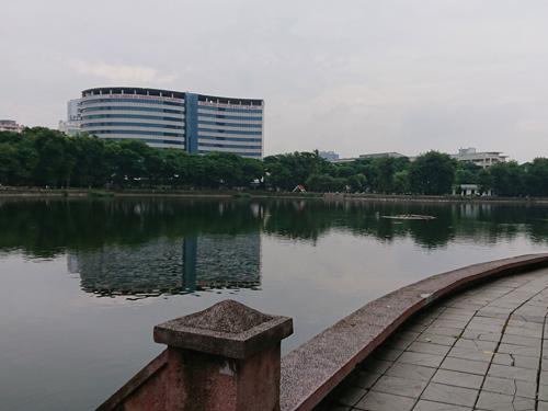 ベトナム・ハノイの公園