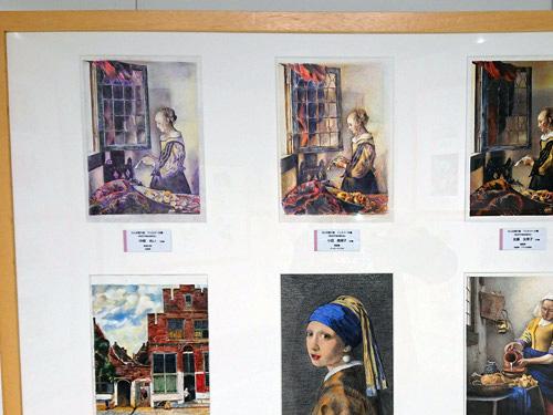 「大人の塗り絵コンテスト」展示会