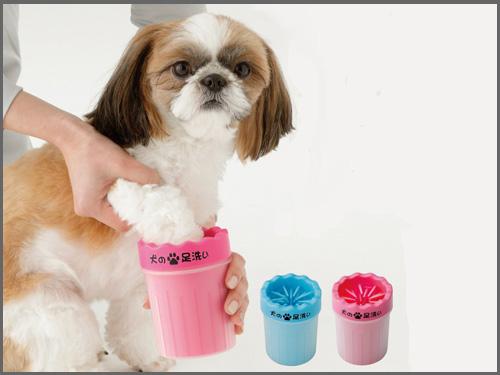 犬足洗いブラシカップ