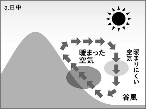 日中の風の仕組み
